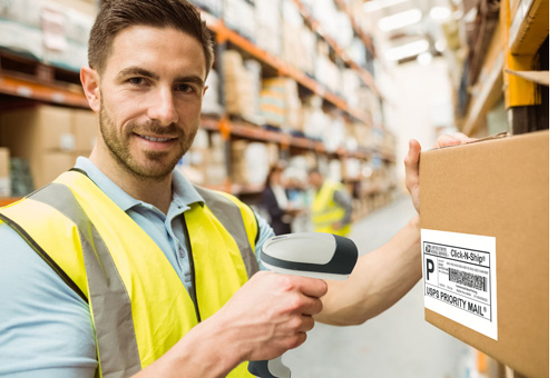 warehouse qr barcode scanner